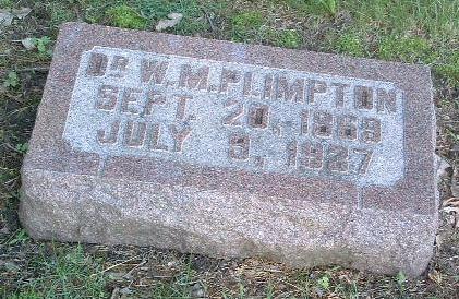 PLIMPTON, W.M. - Mills County, Iowa | W.M. PLIMPTON