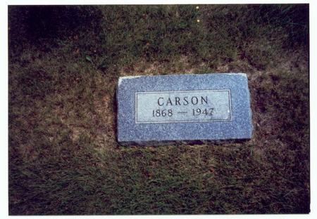 PLUMB, CARSON FRANCIS - Mills County, Iowa | CARSON FRANCIS PLUMB