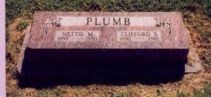GRIFFITH PLUMB, NETTIE M. - Mills County, Iowa | NETTIE M. GRIFFITH PLUMB