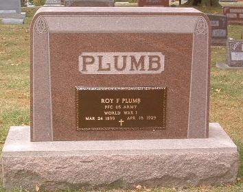 PLUMB, ROY F. - Mills County, Iowa   ROY F. PLUMB