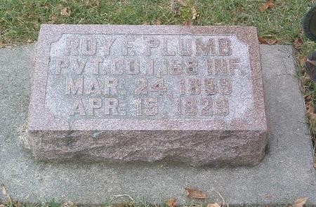 PLUMB, ROY F. - Mills County, Iowa | ROY F. PLUMB