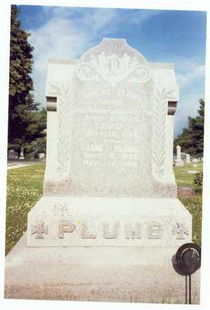 PARKER PLUMB, JANE - Mills County, Iowa | JANE PARKER PLUMB