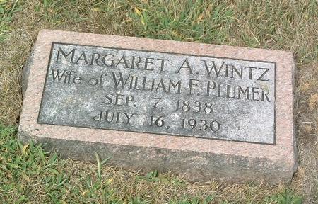 WINTZ PLUMER, MARGARET A. - Mills County, Iowa | MARGARET A. WINTZ PLUMER