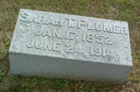 PLUMER, SARAH T. - Mills County, Iowa | SARAH T. PLUMER