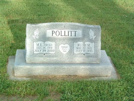 POLLITT, RUTH M. - Mills County, Iowa | RUTH M. POLLITT