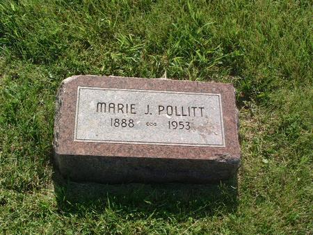 POLLITT, MARIE J. - Mills County, Iowa | MARIE J. POLLITT