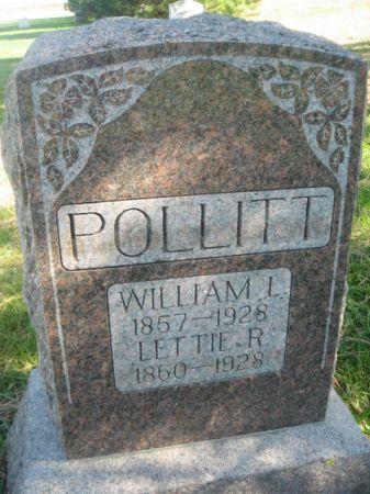 POLLITT, LETTIE R. - Mills County, Iowa | LETTIE R. POLLITT