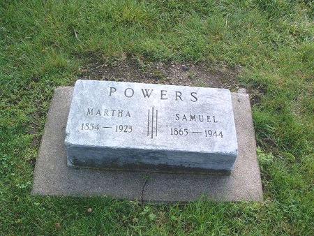 POWERS, MARTHA - Mills County, Iowa | MARTHA POWERS