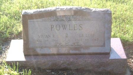 POWLES, VIVIAN R. - Mills County, Iowa | VIVIAN R. POWLES