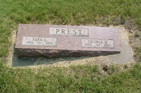 PREST, VERA G. - Mills County, Iowa | VERA G. PREST