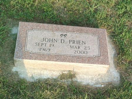 PRIEN, JOHN D. - Mills County, Iowa   JOHN D. PRIEN