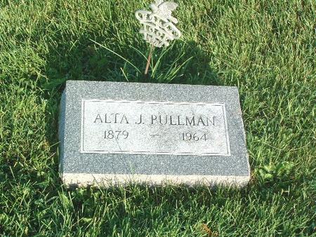 PULLMAN, ALTA J. - Mills County, Iowa | ALTA J. PULLMAN