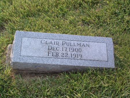 PULLMAN, CLAIR - Mills County, Iowa   CLAIR PULLMAN