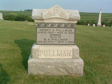 PULLMAN, HENRY A. - Mills County, Iowa | HENRY A. PULLMAN