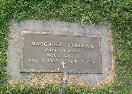 PULLMAN, MARGARET I. - Mills County, Iowa | MARGARET I. PULLMAN