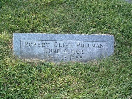 PULLMAN, ROBERT CLIVE - Mills County, Iowa | ROBERT CLIVE PULLMAN