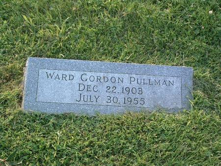 PULLMAN, WARD GORDON - Mills County, Iowa | WARD GORDON PULLMAN