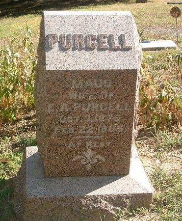 PURCELL, MAUD - Mills County, Iowa | MAUD PURCELL