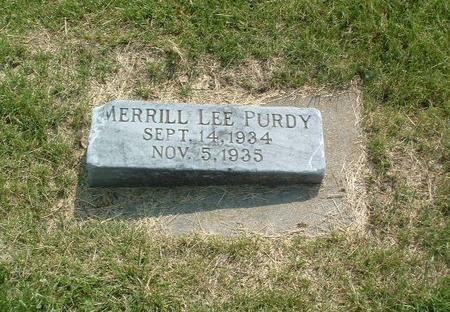 PURDY, MERRILL LEE - Mills County, Iowa | MERRILL LEE PURDY