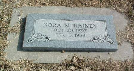 RAINEY, NORA M - Mills County, Iowa | NORA M RAINEY