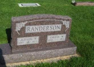 RANDERSON, GALETA - Mills County, Iowa | GALETA RANDERSON