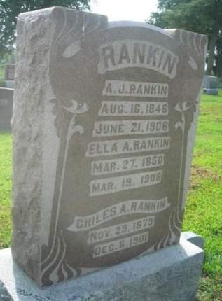 RANKIN, A. J. - Mills County, Iowa | A. J. RANKIN
