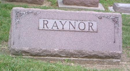 RAYNOR, FAMILY HEADSTONE - Mills County, Iowa | FAMILY HEADSTONE RAYNOR
