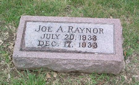RAYNOR, JOE A. - Mills County, Iowa | JOE A. RAYNOR