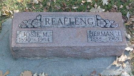 REAFLENG, HERMAN J. - Mills County, Iowa | HERMAN J. REAFLENG