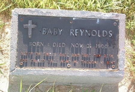REYNOLDS, BABY - Mills County, Iowa | BABY REYNOLDS