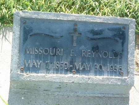 REYNOLDS, MISSOURI E. - Mills County, Iowa | MISSOURI E. REYNOLDS