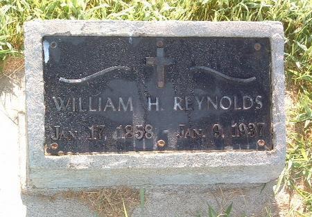 REYNOLDS, WILLIAM H. - Mills County, Iowa | WILLIAM H. REYNOLDS