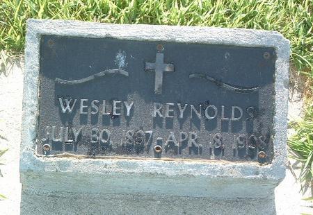 REYNOLDS, WESLEY - Mills County, Iowa | WESLEY REYNOLDS