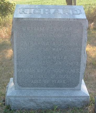 RICHARD, WILLIE - Mills County, Iowa | WILLIE RICHARD