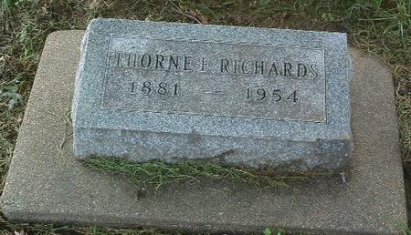 RICHARDS, THORNE - Mills County, Iowa | THORNE RICHARDS
