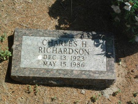 RICHARDSON, CHARLES H. - Mills County, Iowa | CHARLES H. RICHARDSON
