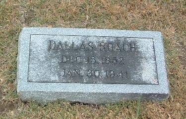 ROACH, DALLAS - Mills County, Iowa | DALLAS ROACH