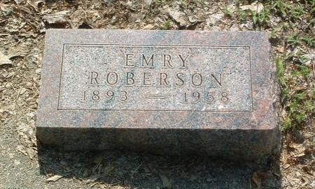 ROBERSON, EMRY - Mills County, Iowa | EMRY ROBERSON