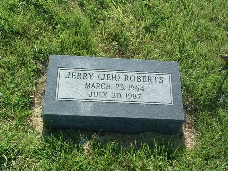 ROBERTS, JERRY (JER) - Mills County, Iowa | JERRY (JER) ROBERTS