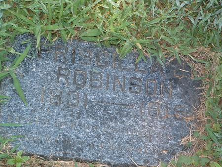 ROBINSON, PRISCILLA J. - Mills County, Iowa | PRISCILLA J. ROBINSON