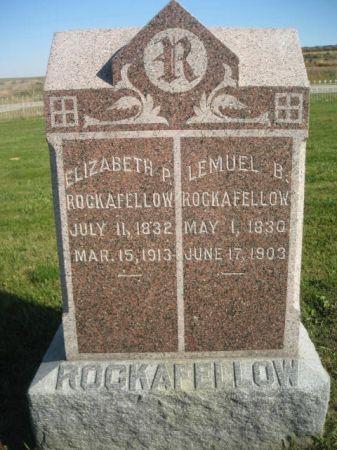 ROCKAFELLOW, LEMUEL B. - Mills County, Iowa | LEMUEL B. ROCKAFELLOW