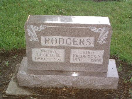 RODGERS, LUCILLE B. - Mills County, Iowa | LUCILLE B. RODGERS