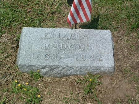 RODMAN, ELIZA A. - Mills County, Iowa | ELIZA A. RODMAN
