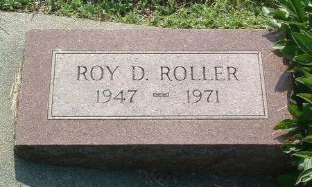 ROLLER, ROY D. - Mills County, Iowa | ROY D. ROLLER