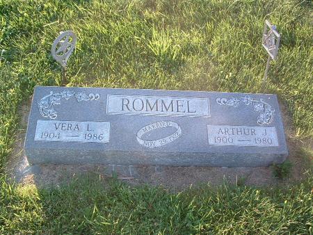 ROMMEL, ARTHUR J. - Mills County, Iowa | ARTHUR J. ROMMEL