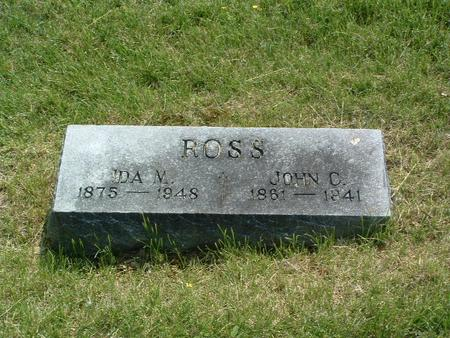 ROSS, JOHN C. - Mills County, Iowa | JOHN C. ROSS