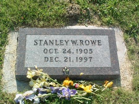 ROWE, STANLEY W. - Mills County, Iowa | STANLEY W. ROWE