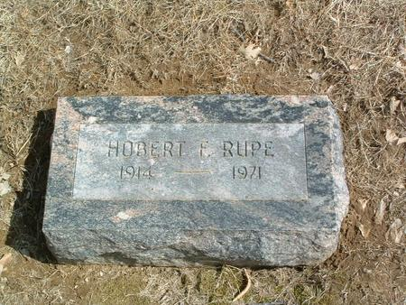 RUPE, HOBERT F. - Mills County, Iowa | HOBERT F. RUPE