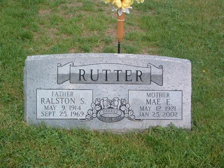 RUTTER, MAE E. - Mills County, Iowa | MAE E. RUTTER