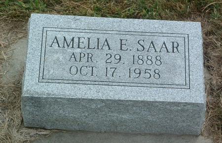 SAAR, AMELIA E. - Mills County, Iowa | AMELIA E. SAAR